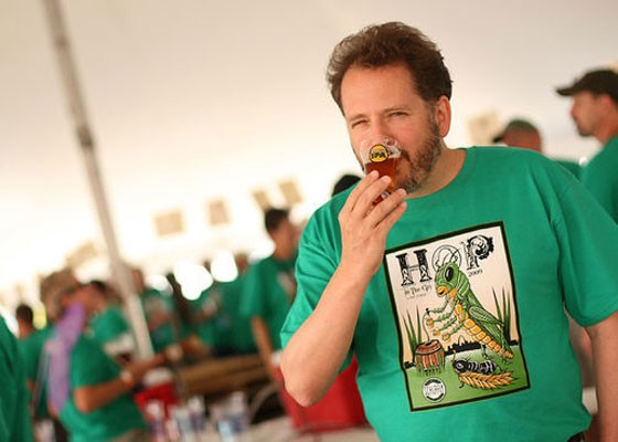 Schlafly cofounder Dan Kopman at the brewery's annual Hop in the City.   Nick Schnelle