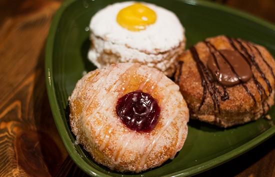 """Doughssants,"" Nadoz's take on the Cronut."