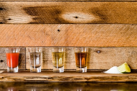 TEQUILA SHOTS AT MILAGRO MODERN MEXICO | EMILY MCDONALD