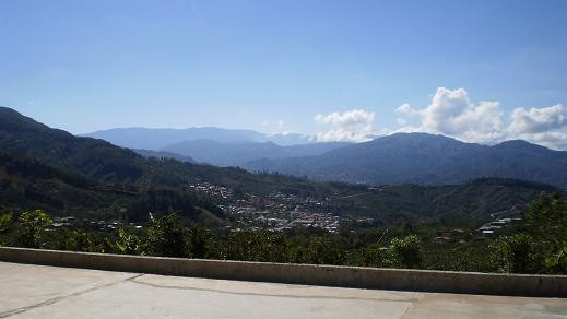 The view from Tarrazú - PHOTO COURTESY TYLER ZIMMER
