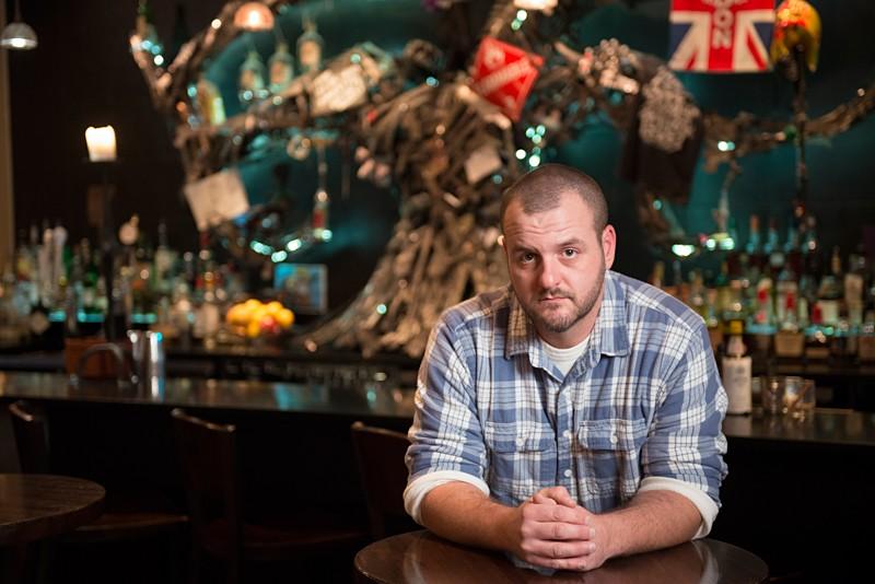 Matt Seiter, cocktail historian and former manager at Sanctuaria. | Corey Woodruff