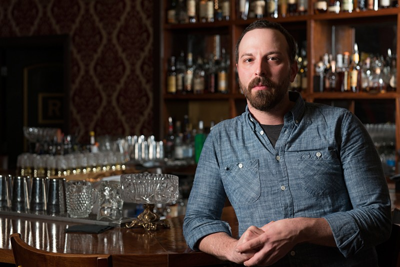 "Matt Obermark, Beam Suntory's ""World Whiskey Specialist."" | Corey Woodruff"