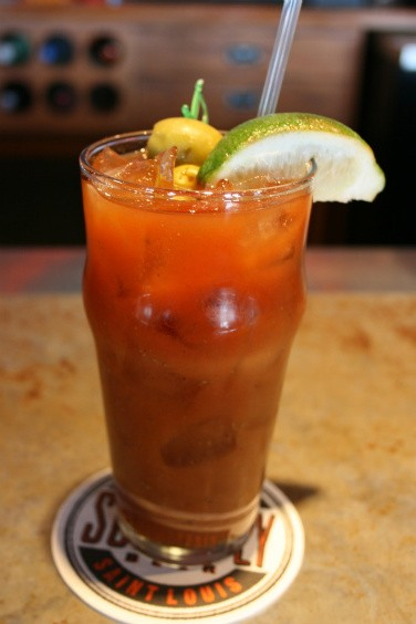 Voilà! Megan Andreini's Bottleworks bloody mary! - CHRISSY WILMES