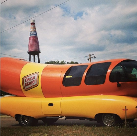 Catsup and wieners, BFFs. | Oscar Mayer