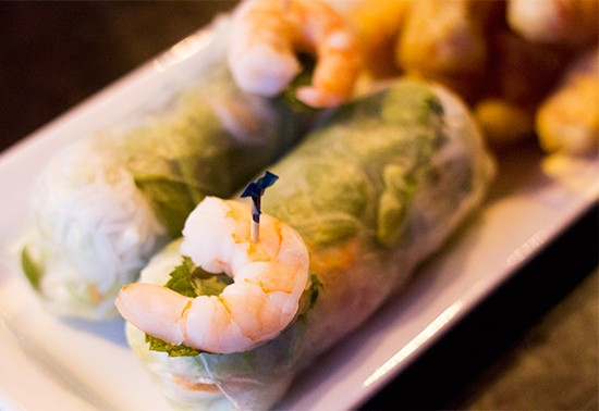 """Fresh rolls"" at the King & I. 
