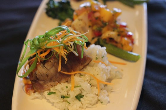 Pan-Asian-style Ahi tuna. | Nancy Stiles