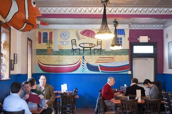 Inside Anthonino's Taverna - JENNIFER SILVERBERG
