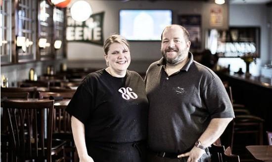 Juliet and Jason Greene, owners of J Greene's. | Jennifer Silverberg