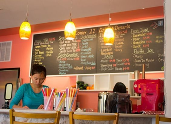 Co-owner Guang Zhao behind the counter. - MABEL SUEN