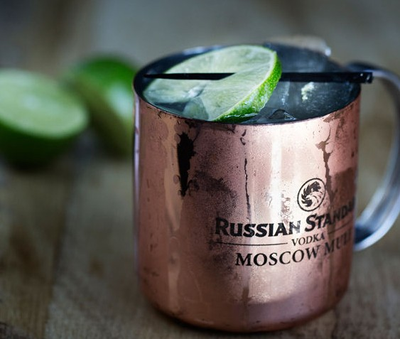 """The """"Moscow Mule"""" is vodka, ginger beer and lime. - JENNIFER SILVERBERG"""