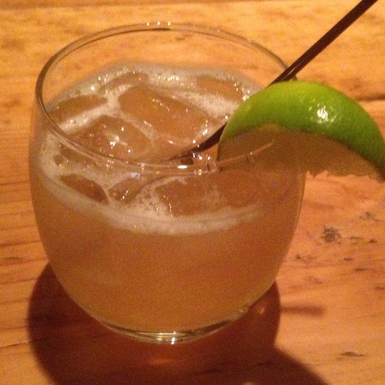 """The """"Ginju Sipper"""" at the Night Owl. 