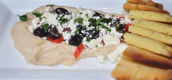 Truffled white-bean hummus at Robust. - TARA MAHADEVAN