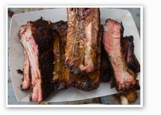 Baby back ribs from PM BBQ. | Theo Welling
