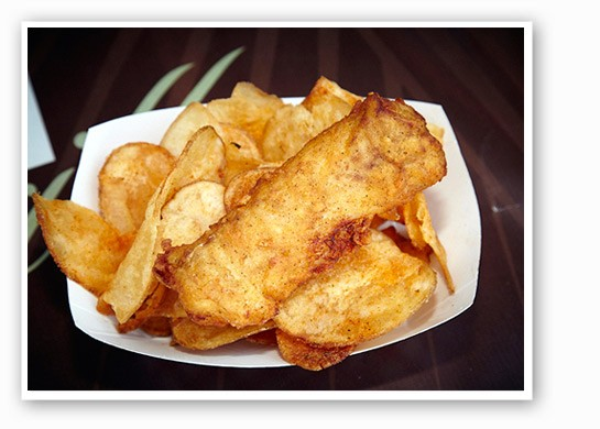 Fish and chips from Triumph Grill. | Steve Truesdale