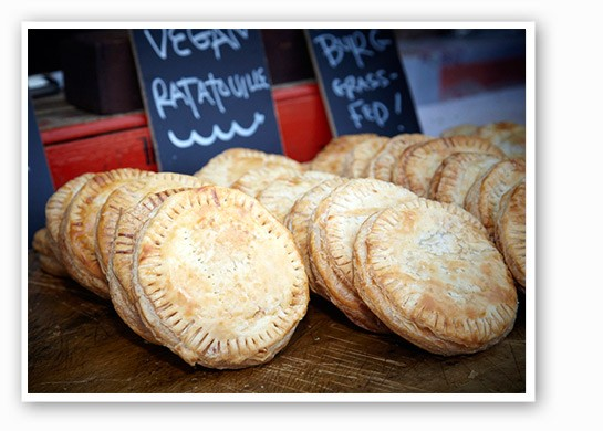 Hand pies from Local Harvest Cafe. | Steve Truesdale