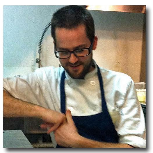Chef Chris Bork, the Mud House - HOLLY FANN