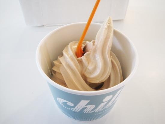 """Root Beer Float"" frozen yogurt at Chill - IAN FROEB"