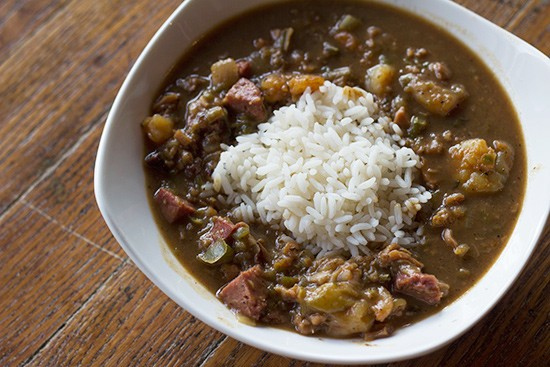 A cup of gumbo | Mabel Suen