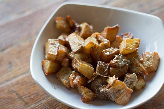 Fried potato salad | Mabel Suen