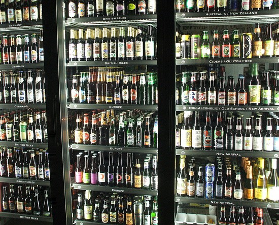 International Tap House: Nine thousand, nine hundred and ninety-nine bottles of beer on the wall...oh, never mind. - KRISTEN KLEMPERT