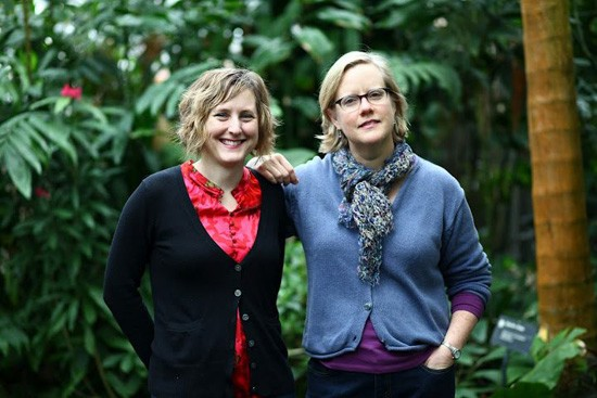 Authors Maddie Earnest and Liz Fathman of Missouri Harvest. - COURTESY OF LIZ FATHMAN