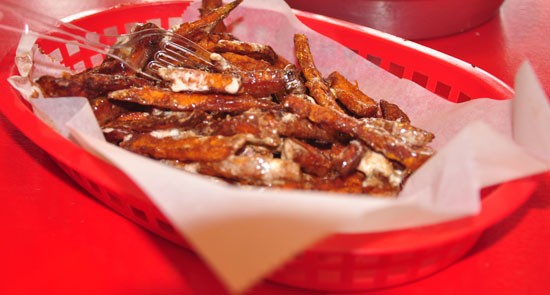 Sweet-potato fries at the Kitchen Sink | Tara Mahadevan