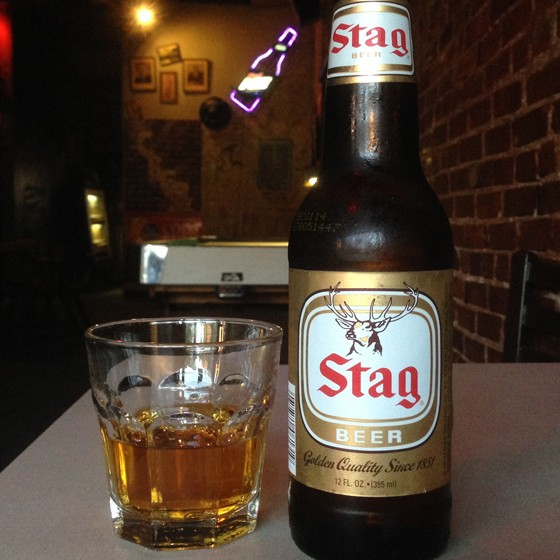 A shot and a beer for six bucks. | Patrick J. Hurley