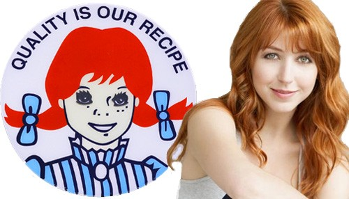 Wendy's classic mascot logo gets a grown-up upgrade in the chain's new TV commercials.