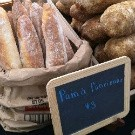 Some of the artisan breads at the Webster Groves Farmers' Market - HOLLY FANN