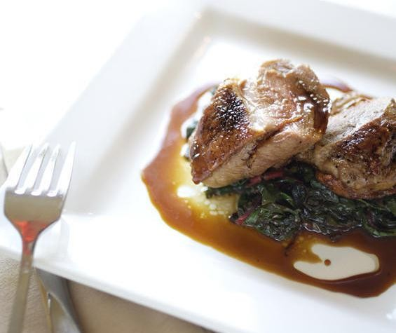 A duck dish at Salt, one of several restaurants worth a splurge during your visit to St. Louis - JENNIFER SILVERBERG