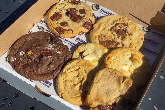 Warm cookies await inside.