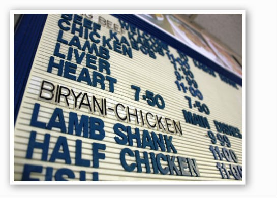 The Kabob House menu gets right to the heart of things.   Pat Kohm