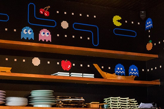 Which roll Pac-Man would go for?