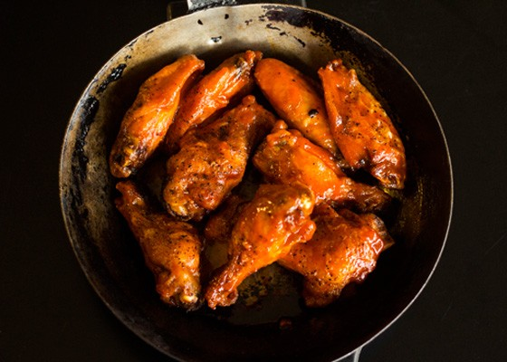 The Flaming Wings at Cooper's. | Mabel Suen
