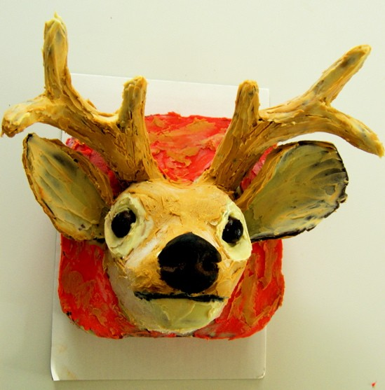 Deer in the spotlights: St. Louisan Kerry Soraci's cake artistry will be on display on the new Cooking Channel on May 31 - KERRY SORACI