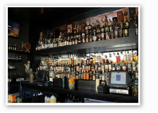 Stacks on stacks of whiskey. | Zach Garrison