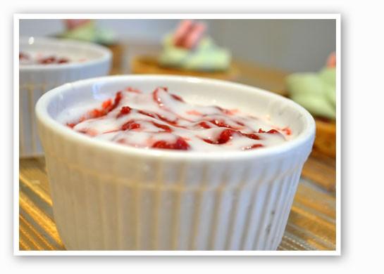 Red velvet bread pudding.   Crepes, etc.