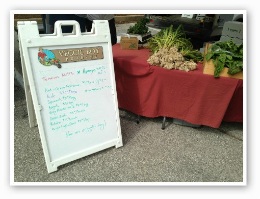 Veggie Boy Produce produce. | Zach Garrison