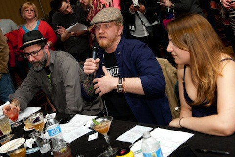 The mixology judges at Iron Fork | Jon Gitchoff
