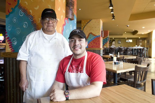 Chuy (left) and Coby Arzola (Eddie Arzola - not shown) - the family business. See more photos. - PHOTO: JENNIFER SILVERBERG