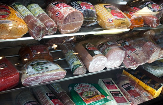 A selection of Thurmann's meats and cheeses. - MABEL SUEN