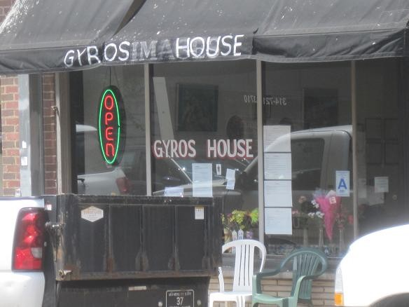 The open sign is lit once again at Gyro House. - IAN FROEB