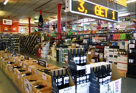 Randall's is friendlier than other wine stores, Jase Bennett says. It's bigger, too. - KATIE MOULTON