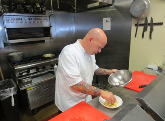 Balaban's new executive chef, D. Scott Phillips. | Balaban