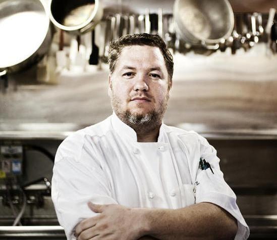 Wes Johnson, owner and chef of Salt - JENNIFER SILVERBERG