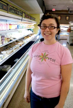 Chef Clara Moore at Local Harvest Grocery in Kirkwood. - LIZ MILLER
