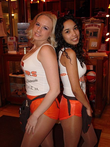 Hooters is known for its chicken wings. - IMAGE VIA