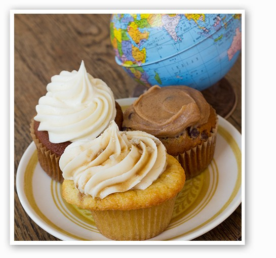 A selection of Whisk's cupcakes. | Mabel Suen