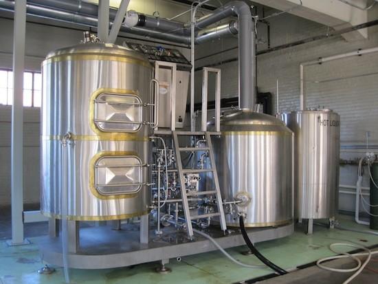 Part of the brewing operation at Perennial - SARAH BARABA