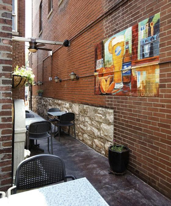 The back patio at Three Kings.   Jennifer Silverberg